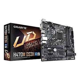 Gaming Motherboard Gigabyte H410M DS3H mATX DDR4 LGA1200