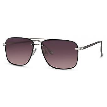النظارات الشمسية الرجال مستطيلة الرجال كات. 3 فضي/ بنفسجي