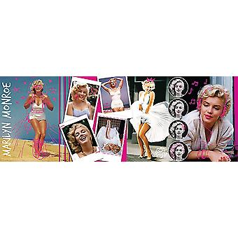 Marilyn monroe panorama jigsaw puzzle (500-piece, multi-colour)