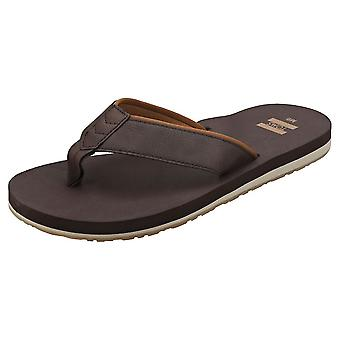 Toms Carilo Mens Beach Sandals in Chocolate