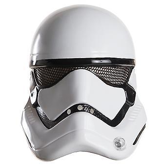 Stormtrooper Star Wars film Disney licens Herre kostume 1/2 maske