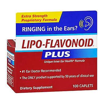 Lipo-flavonoid plus dietary supplement for ear health, caplets, 100 ea *