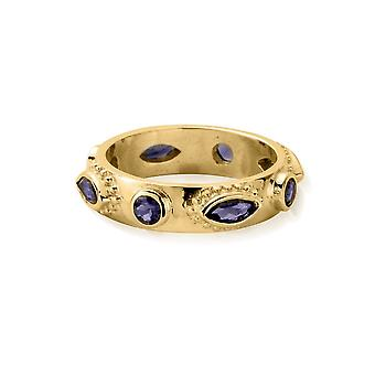 ChloBo Gold Cosmic Connection Ring GR12563