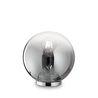Ideale Lux Mapa - 1 Lichte Globe Table Light Chrome Shade