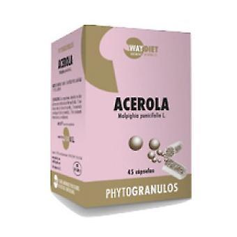 Phytogranulos Acerola Vitamin C 45 capsules