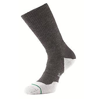1000 Mile Wool Fusion Walking Sock Charcoal