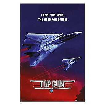 Top Gun, Maxi Poster - The Need For Speed