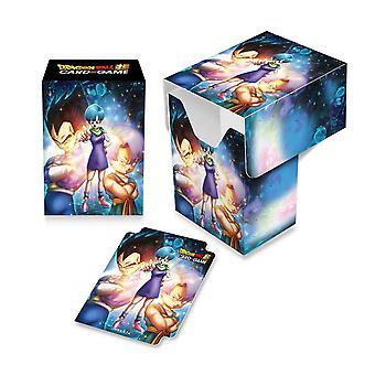 Dragon Ball Super Full View Deck Box - Bulma/Vegeta og Badebukser