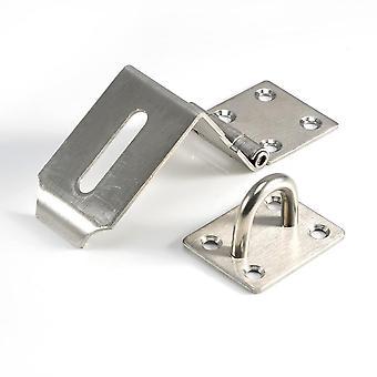 Armário de aço inoxidável Hasp Lock 90 Graus Fechadura cadeado da porta