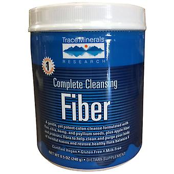 Trace Minerals Complete Cleansing, Fiber Part 2, 8.5 Oz