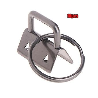 Key Fob Hardware Chain Split Ring For Wrist Cotton Tail Clip
