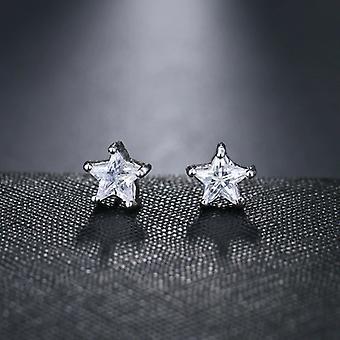 スターダイヤモンドクリスタルスタッドイヤリング