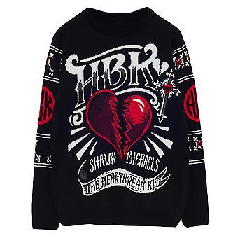 WWE Shawn Michaels The Heartbreak Kid Women's Knitted Jumper