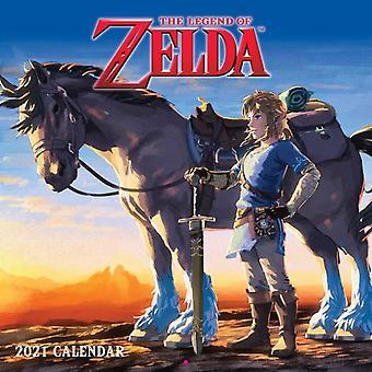 Nintendon Zelda 2021 -seinäkalenteri