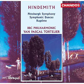 P. Hindemith - Hindemith: Symfonische dansen/Ragtime/Pittsburg Symphony [CD] USA import