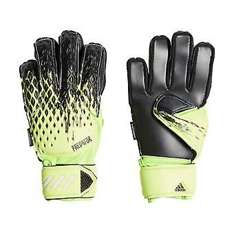 adidas Predator 20 Fingersave Junior Goalkeeper Glove Green/Black/White