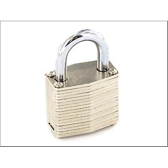 Securit Lam Padlock Brass Cylindre 50mm S1116