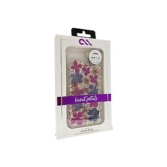 Case-Mate Karat Petals Case for iPhone 8 Plus/7 Plus/6s Plus/6 Plus - Purple Petals