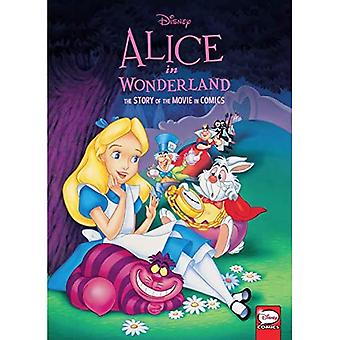 Disney Alice in Wonderland:� The Story of the Movie in Comics