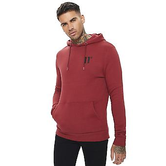 Eleven Degrees 11 Degrees 11d-002-304 Core Pull Overhead Hoodie - Brick Red
