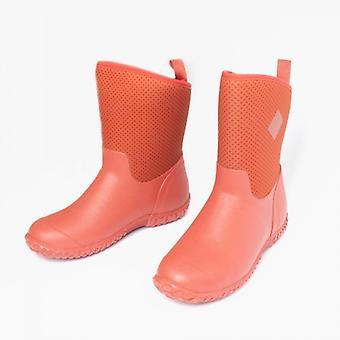 Muck Boots Rhs Muckster Ii Short Ladies Neoprene Wellington Boots Red