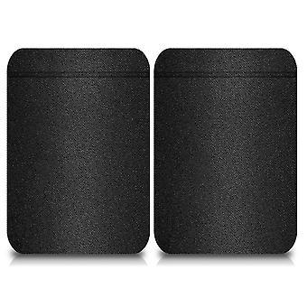 Unisex elastische Anti-Chafing Oberschenkelband, ein schwarzes Band, L