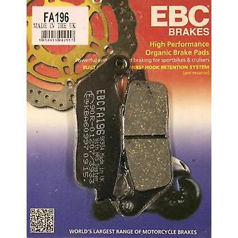 EBC FA196 Street Motorcycle Front Brake Pads For Honda CBR500 2013-15