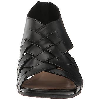 Sandalias de plataforma Casual de dedo del pie de cuero Isabelle de Bella Vita para mujer