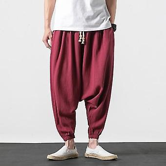 Men Trousers, Hip Hop Joggers Streetwear Cross Pants