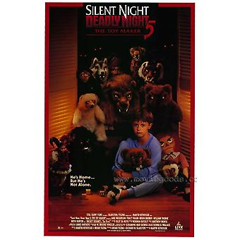 Silent Night Deadly Night 5 The Toy Maker Movie Poster (11 x 17)