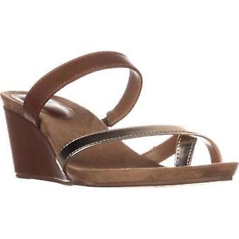Style & Co. Womens Madelaa Split Toe Casual Slide Sandals