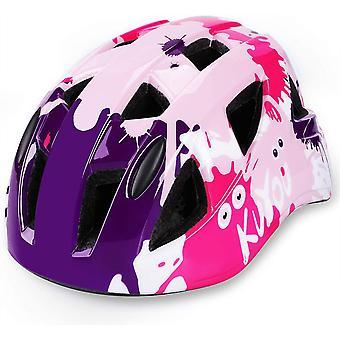 Kuyou Helmet,CE Certified Lightweight Bike Helmet,52-58cm(Ages 3-12)