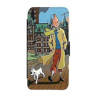 Custodia portafoglio Tintin iPhone 12 / iPhone 12 Pro