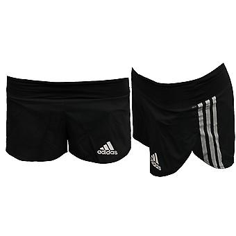 Adidas AdiZero Womens Split Running Shorts Fitness Training Gym AJ4994 UA115