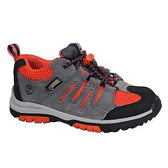 تيمبرلاند الرمز البريدي تريل OX غور تكس تبديل ما يصل رمادي أورانج أحذية الأطفال الصغار A1AP3 B29D