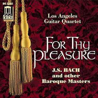 Los Angeles Guitar Quartet - For Thy Pleasure [CD] USA import