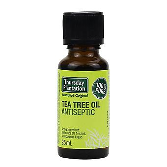 100% Pure Tea Tree ulei esential pentru tratamentul acneei