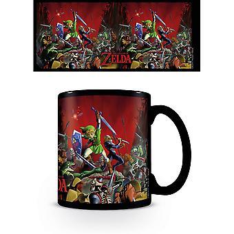 The Legend Of Zelda Battle Heat Changing Mug