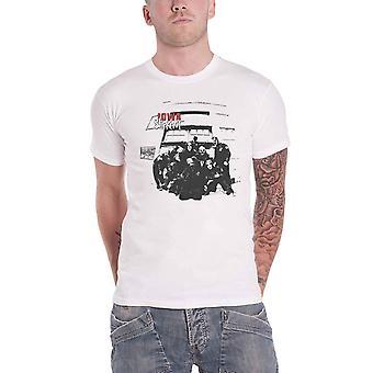 Slipknot T Shirt Iowa Track List Band Logo new Official Mens White