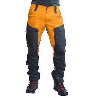 Casual Men Fashion Multi Pockets Sports Long Cargo Pants Work Trousers
