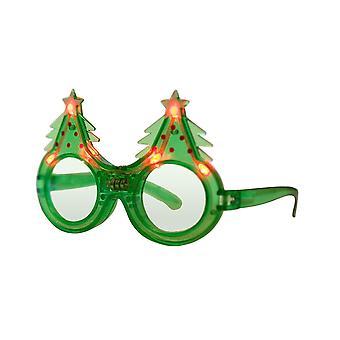 Led partiszemüveg. villogó, villogó, vicces led szemüveg, fények, felszerelés, jelmez kiegészítők (Chris