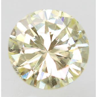 Sertifioitu 0,29 karat K VVS2 pyöreä loistava parannettu luonnollinen löysä timantti 4,33m