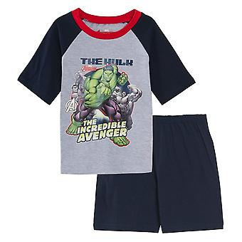Hulk Boys Short Pyjama Set