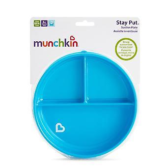 Munchkin holde sette sugeplate blå