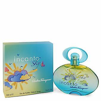 Incanto Sky de Salvatore Ferragamo Eau De Toilette Spray 3.4 oz / 100 ml (Mujeres)