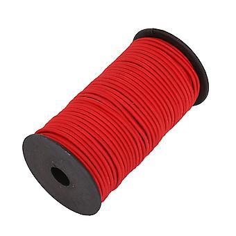 Banda elástica ancha de 4 mm, cordón elástico redondo