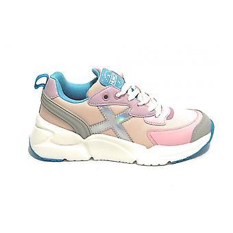 Scarpe Bambino Munich Sneaker Mini Track Rosa Zs21mu11 8895022