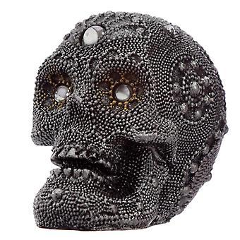 Fantasia decorativa enfeitada pequeno ornamento de crânio