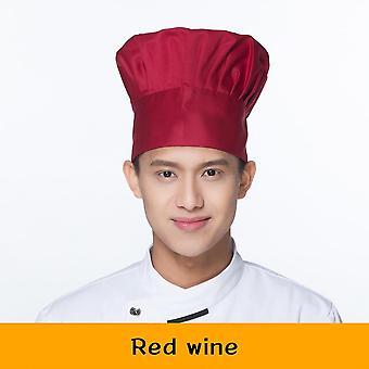 Υπηρεσία τροφίμων Σεφ Καπέλο Μαγείρεμα Ρυθμιζόμενο Μανιτάρι Καπ τροφοδοσία ελαστική κουζίνα