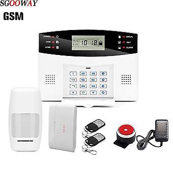 Trådløst hjem Sikkerhed Gsm Alarm System